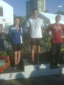 arlene semeco and lindsey mcknight go 1-2 in the 50m free at sectionals in fort lauderdale on 3-20-2010.